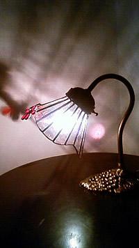 創作  沙予ランプ